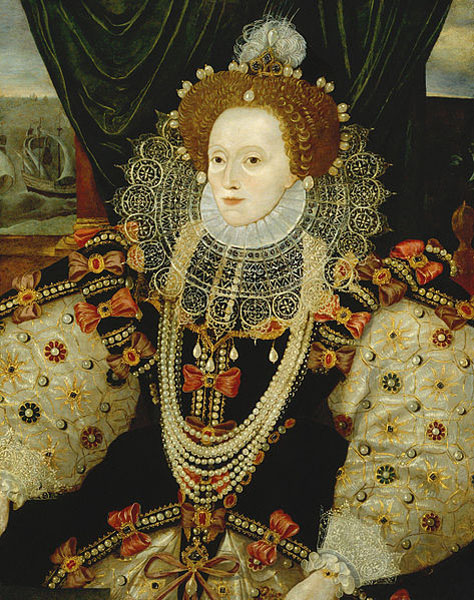 473px-Queen_Elizabeth_I_by_George_Gower KLS edited