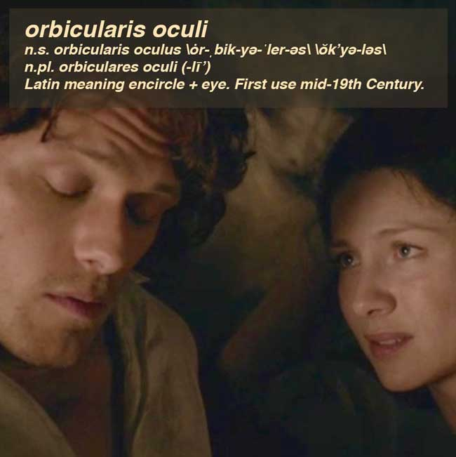 Fun Fact: orbicularis oculi |