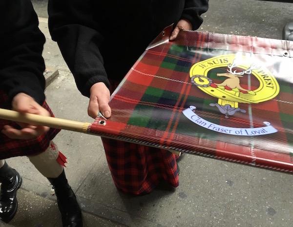 Parade Fraser banner